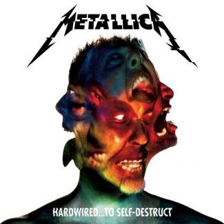 Metallica - Hardwired... to Self-Destruct Cover ©Universal Music