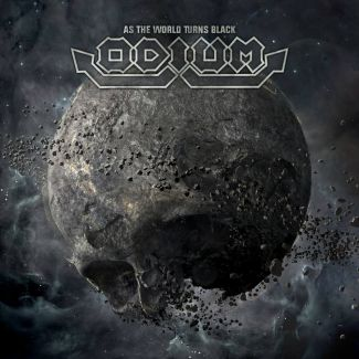 Odium - As The World Turns Black, Cover