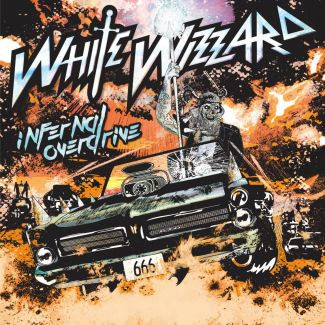 White Wizzard - Infernal Overdrive, Cover ©M-Theory