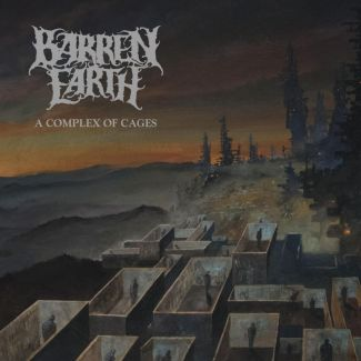 Barren Earth - A Complex Of Cages, Cover