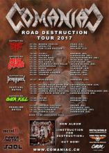 Comaniac - Instruction For Destruction Tour