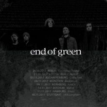 End Of Green Tour
