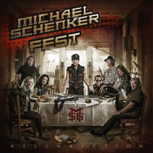 Michael Schenker Fest - Resurrection, Cover